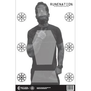 Rune Nation Paper Target